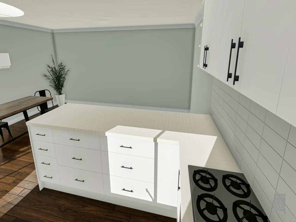 3D Kitchen project