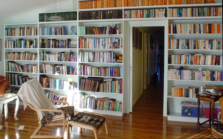 Wall Library by DRK Kitchens