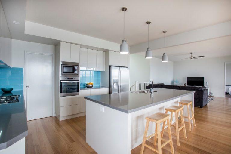 Sleek modern kitchen made by DRK Kitchens, Ulladulla