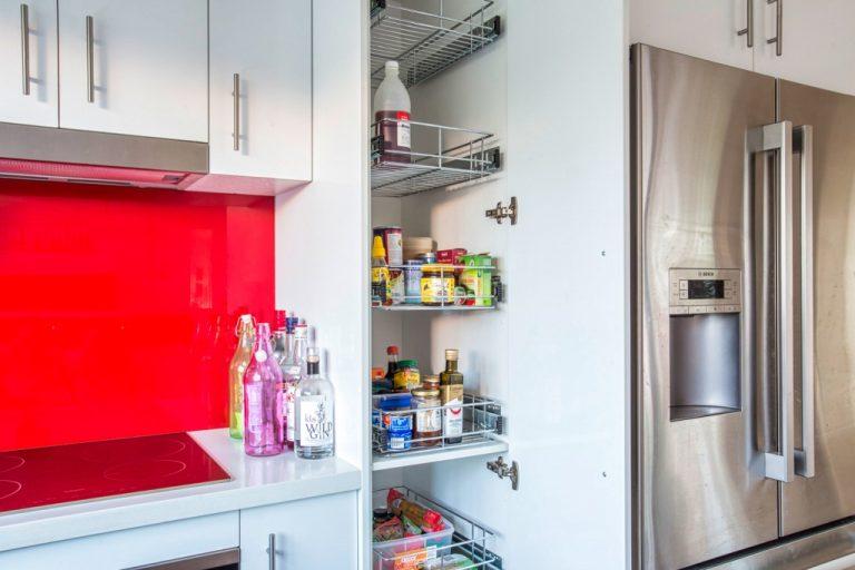 Kitchen storage by DRK Kitchens